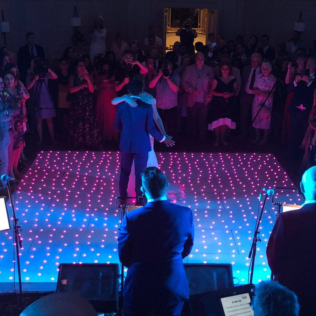 Stanbrook Abbey  #Worcesterhsire #wedding #dj #weddingentertainment  #leddancefloor