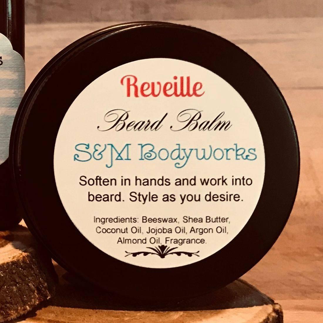 Beard, Balm, Wax, Medium Control