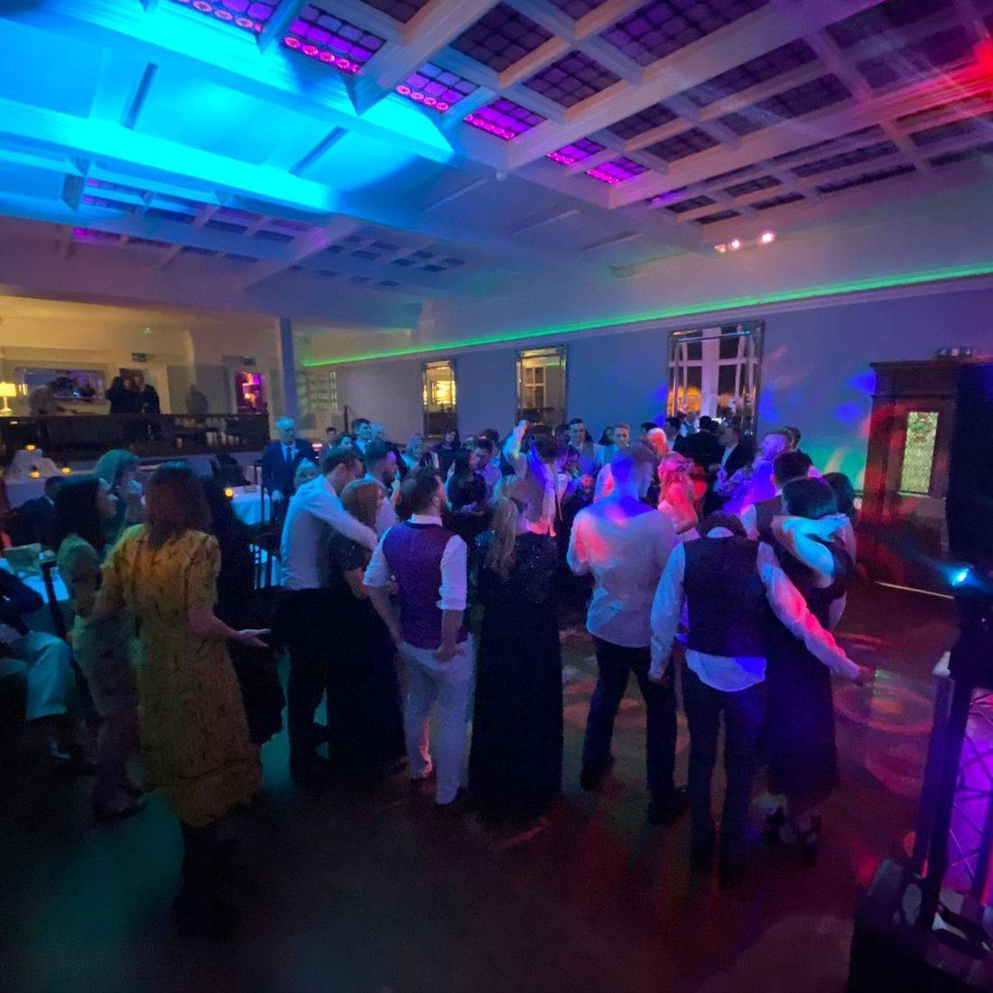 Pendrell Hall Wedding Venue  DJ & LED Dancefloor  Ollie Clarke