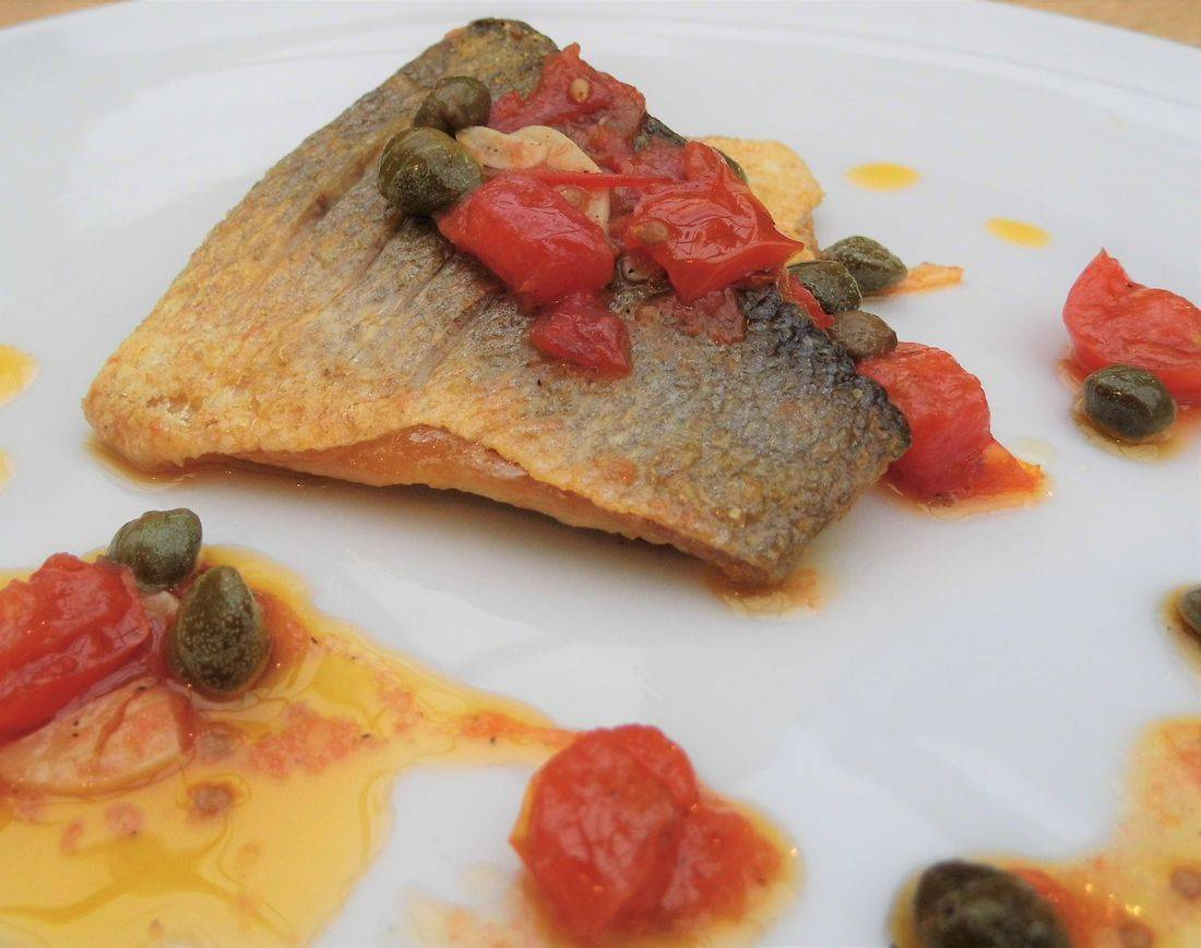 Fish cookery course