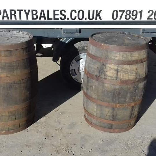 Whisky barrel hire