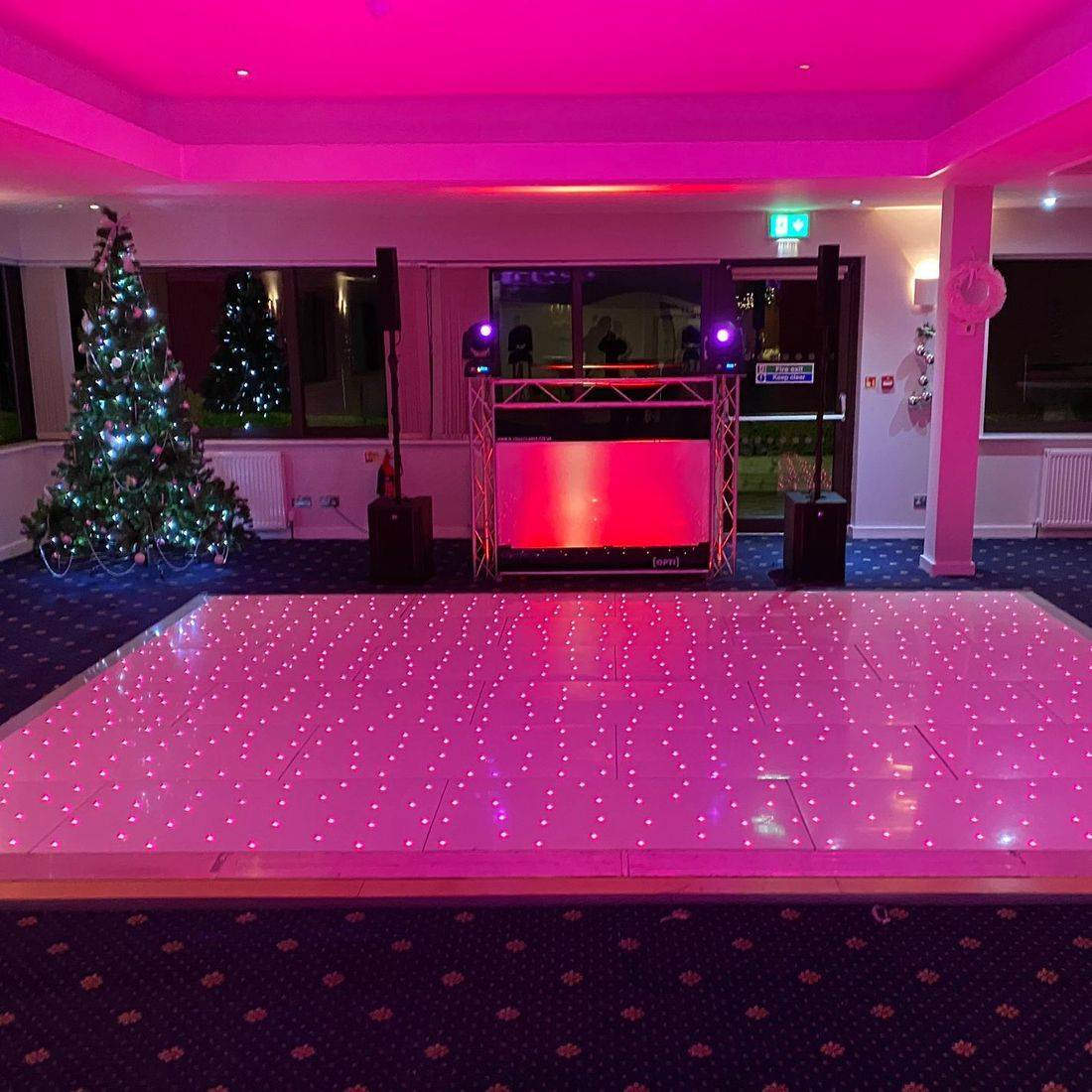 Hagley Golf Club LED Dancefloor