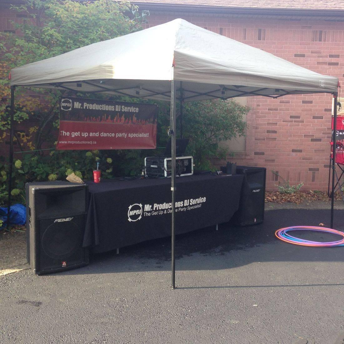 DJ for a Community Event