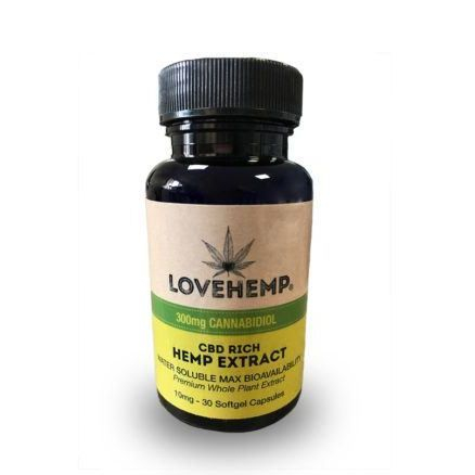 Love Hemp CBD Capsules
