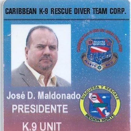 PARTE DE NUESTRO GRUPO CARIBBEAN K9 RESCUE