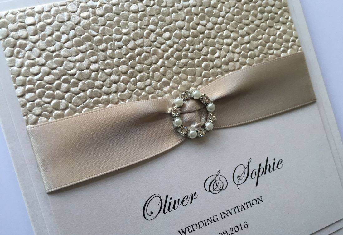 wedding invitations, buckle wedding invitations, luxury wedding invites