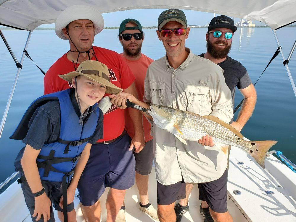 San Antonio Calaveras Lake Fishing