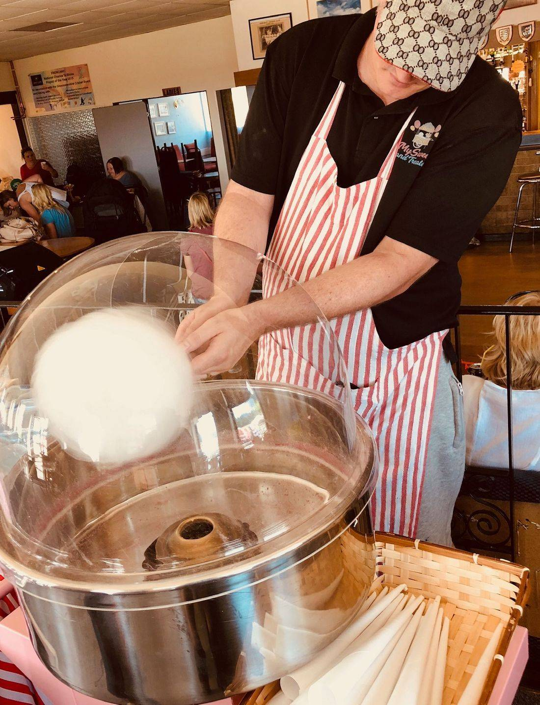 Candy floss prosecco