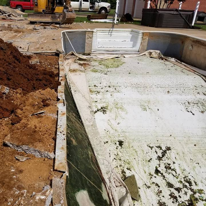 Cheap Polymer Plastic Pool Removal