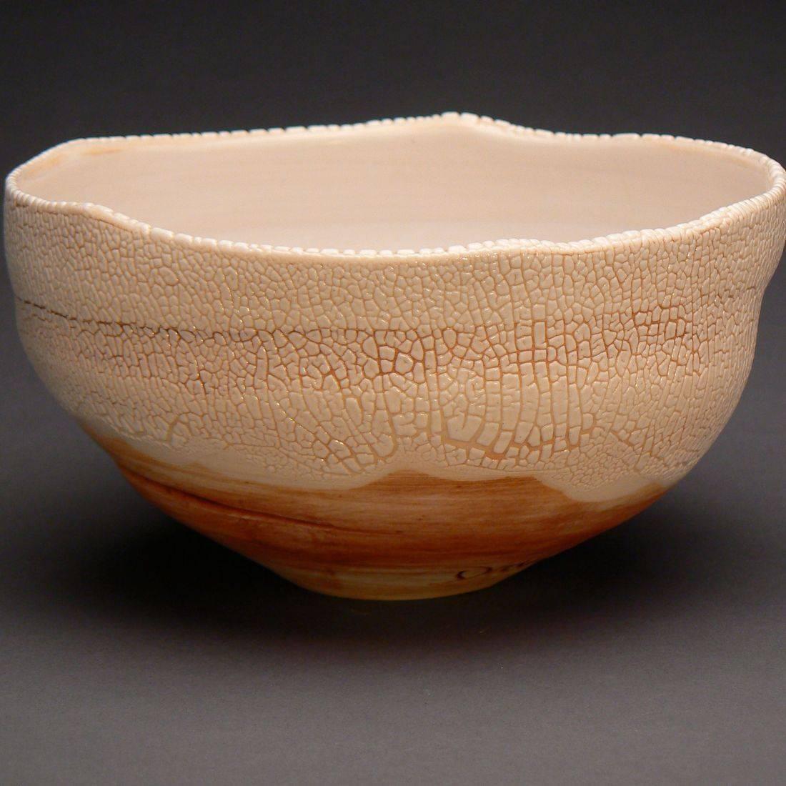 Bowl w/ Separating Glaze