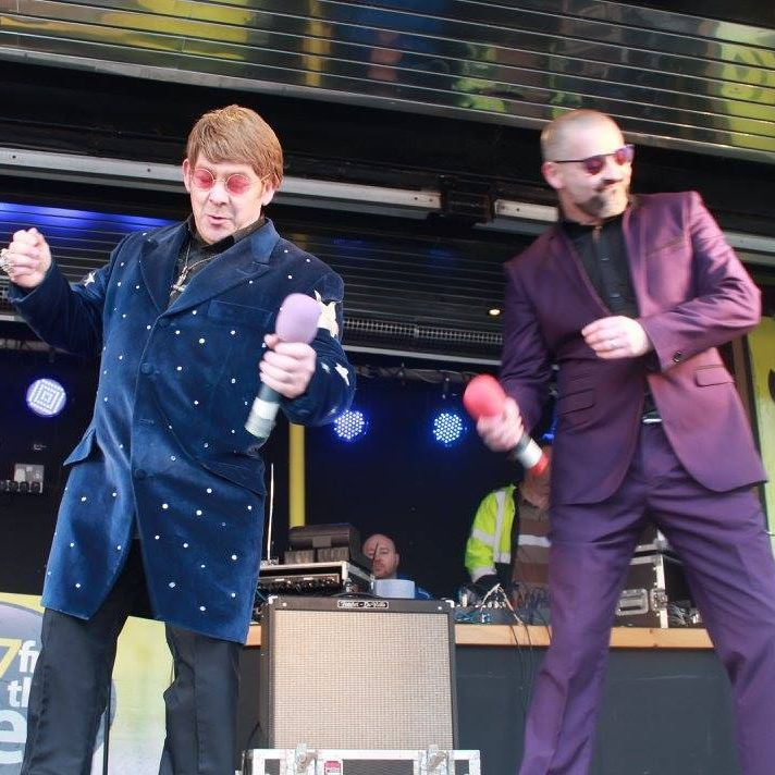Elton John Tribute act  Andy Crosbie  Rocketman george michael