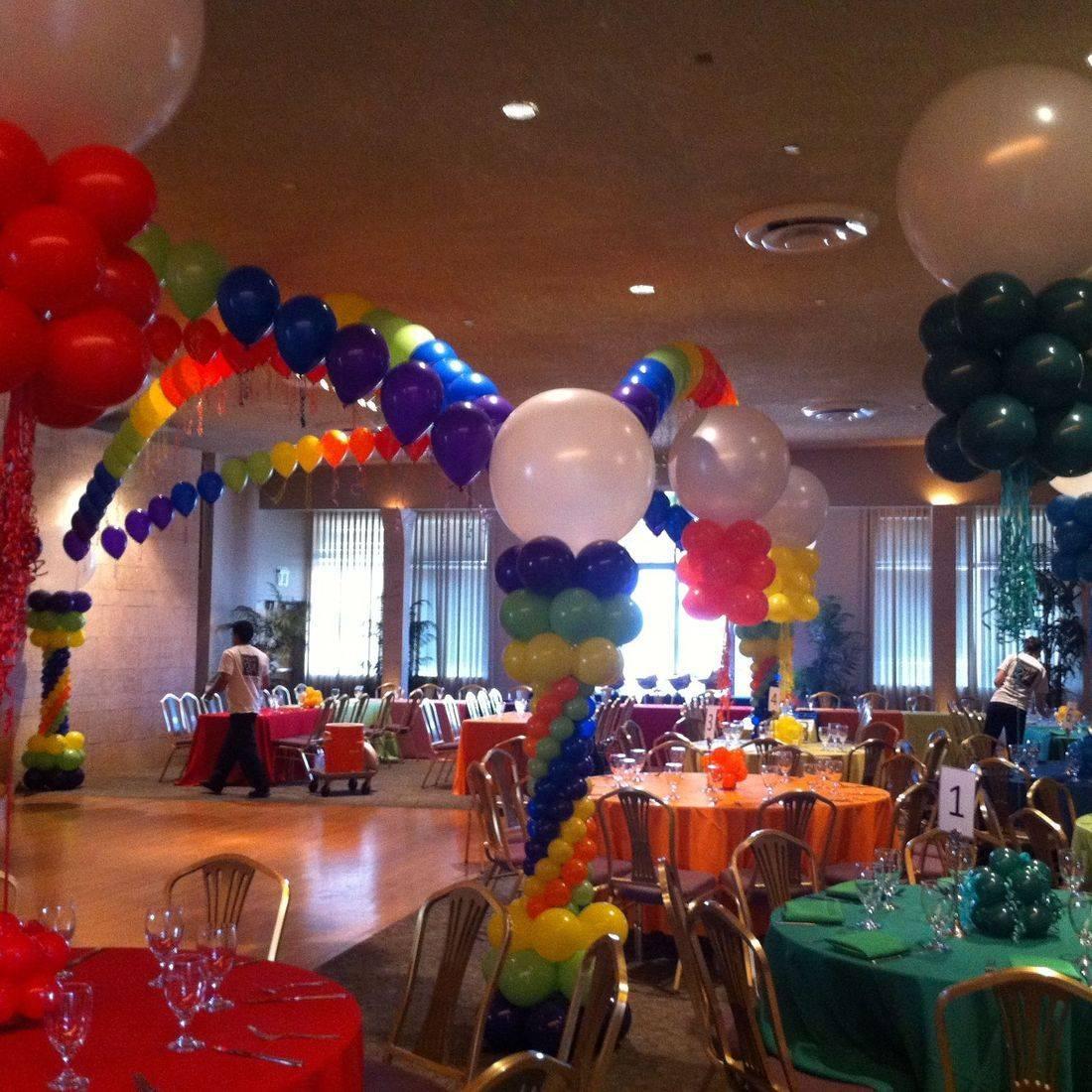Balloon Mitzvah Decor