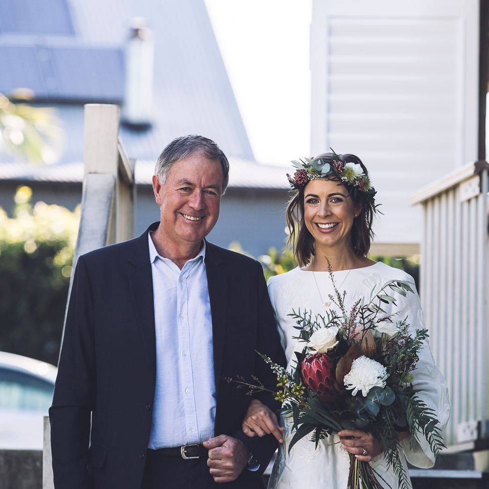 Kate and her lovely dad