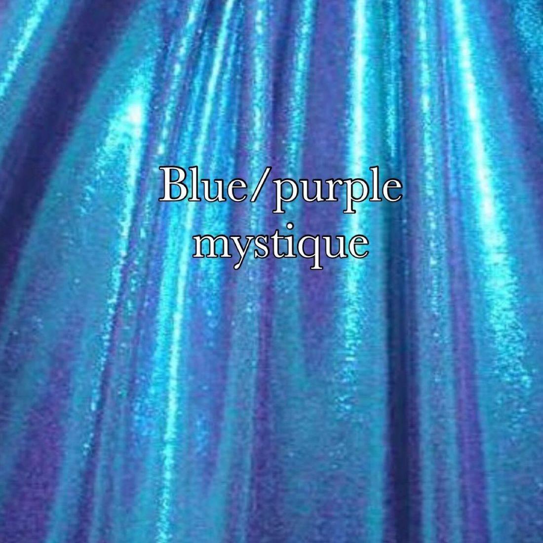 Blue purple mist