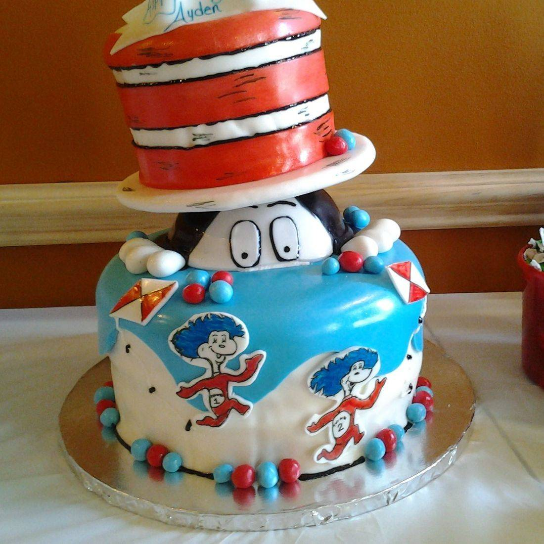 Cat in the Hat Thing one and thing two