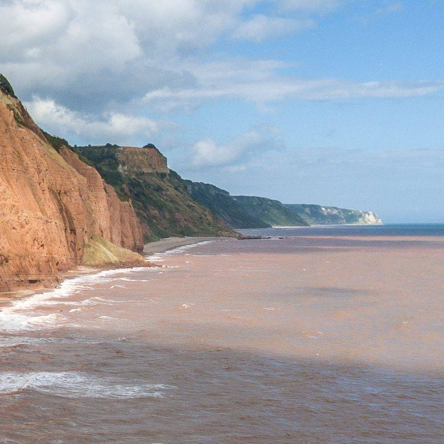 The Cliffs at Sidmouth.