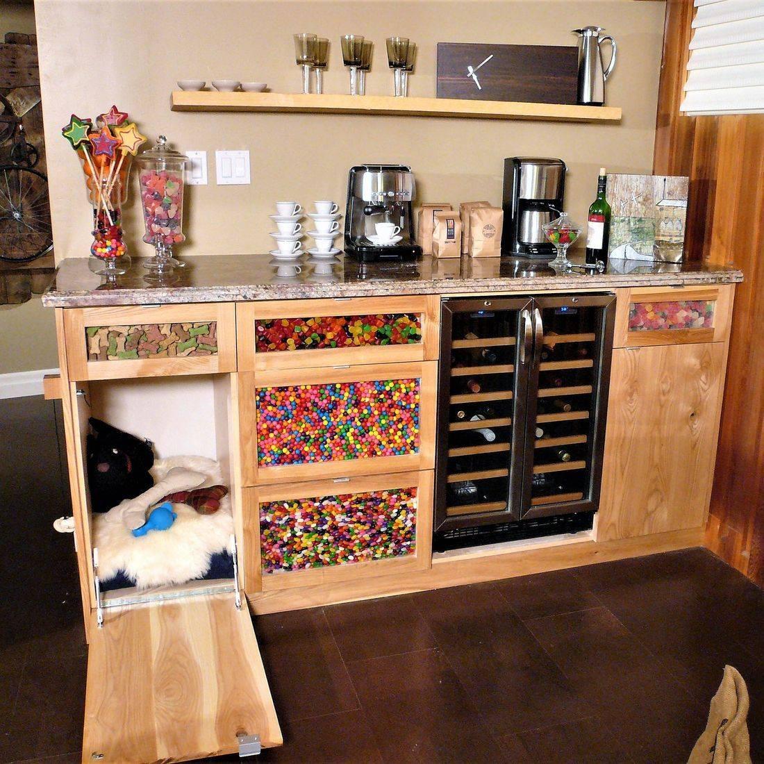 Sibra Kitchens Markham Toronto HGTV basement bar cabinets