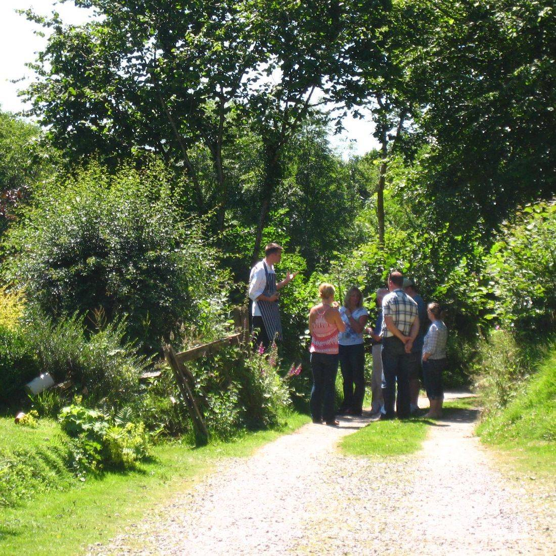 Team building cookery course Streamcombe