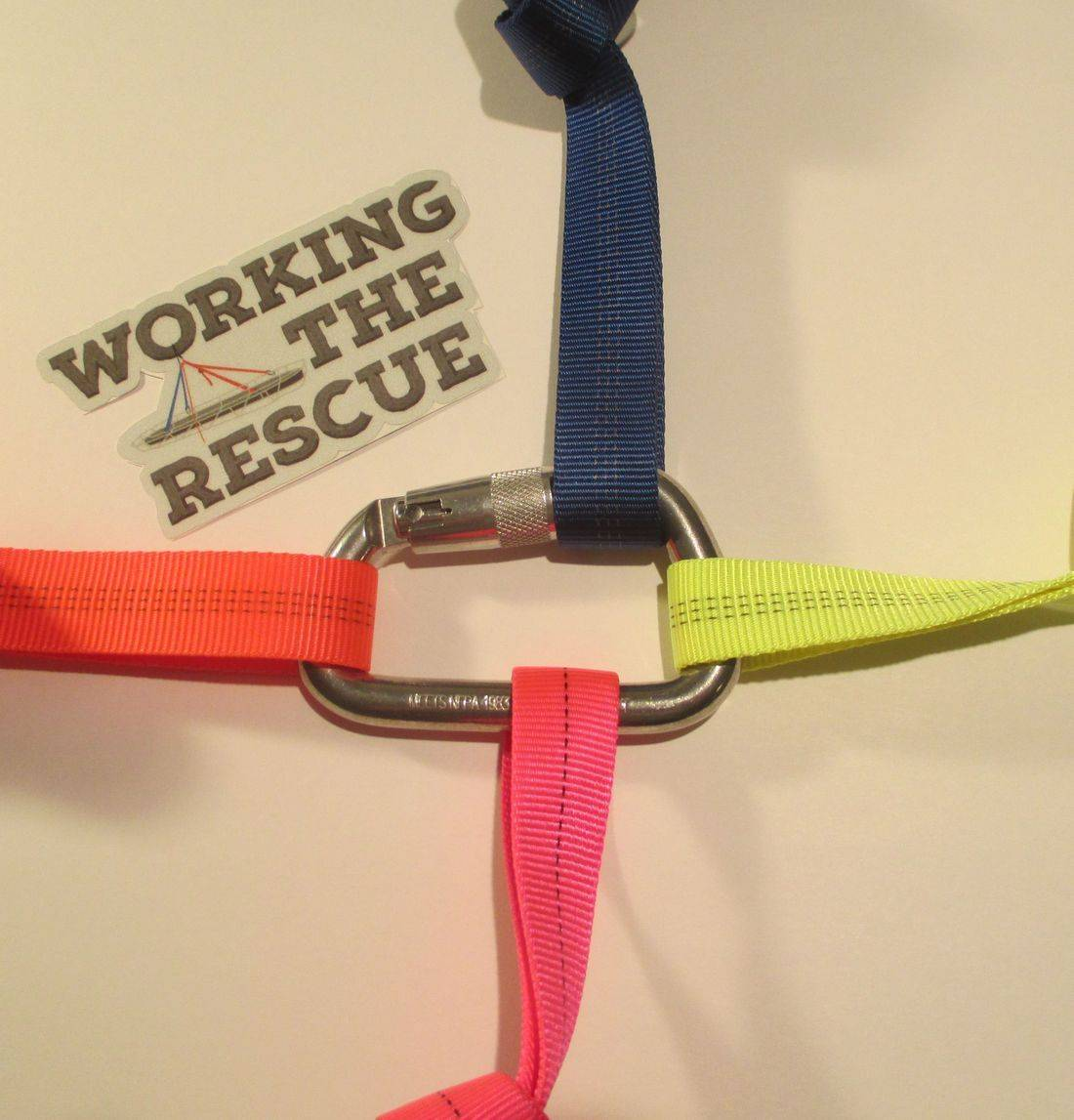 carabiners rope rescue rigging