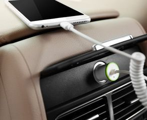 Charge your cell phone the safer, cleaner way!