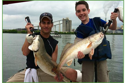 San Antonio fishing, redfish fishing, Braunig Lake and Calaveras lake guides