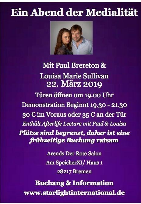 Paul Brereton & Louisa Marie Sullivan