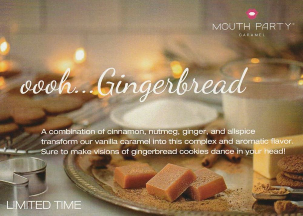 Mouth Party Gingerbread Caramels
