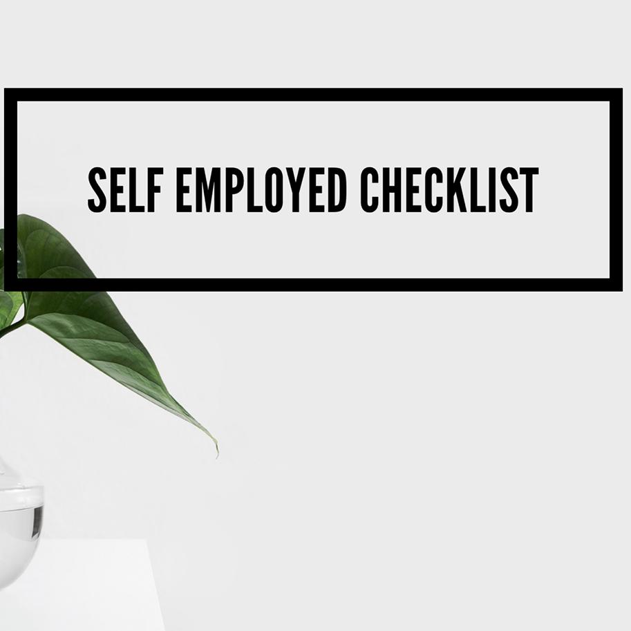 Self-Employed Tax Checklist