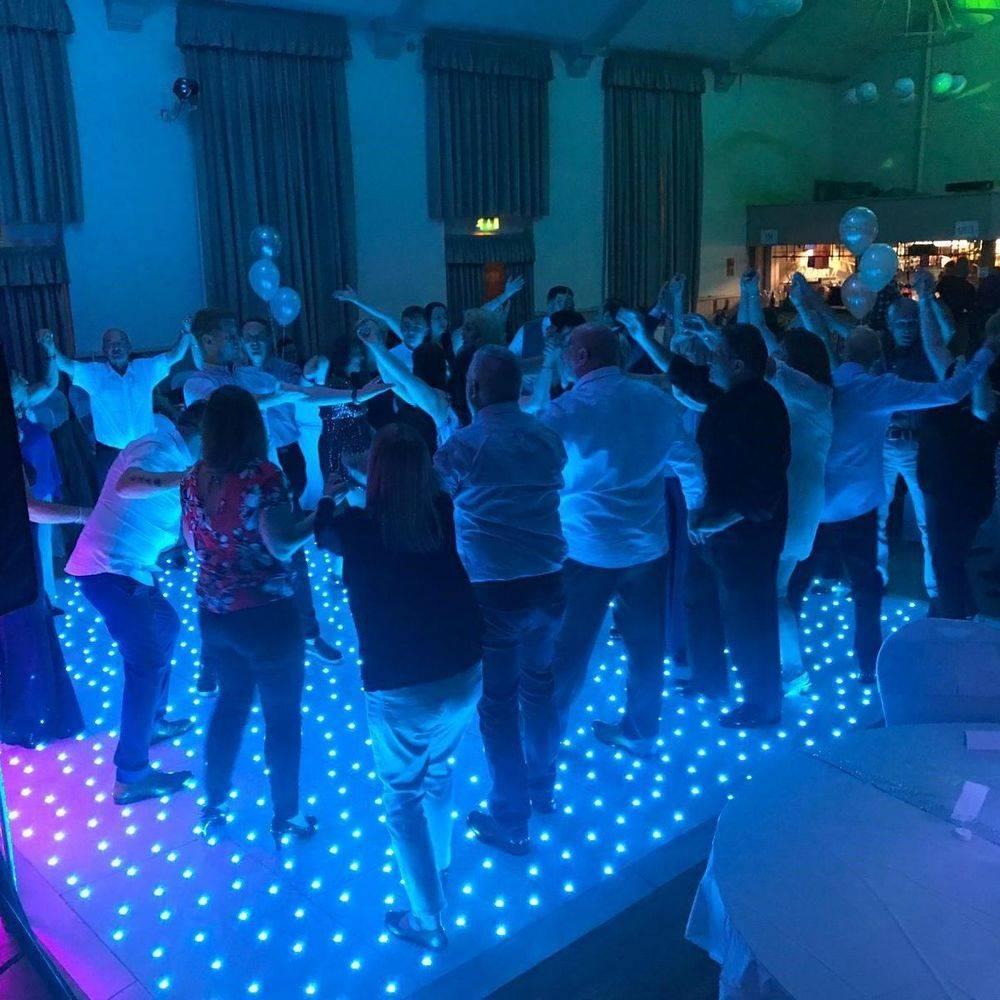 birmingham Wedding DJ Led Dancefloor