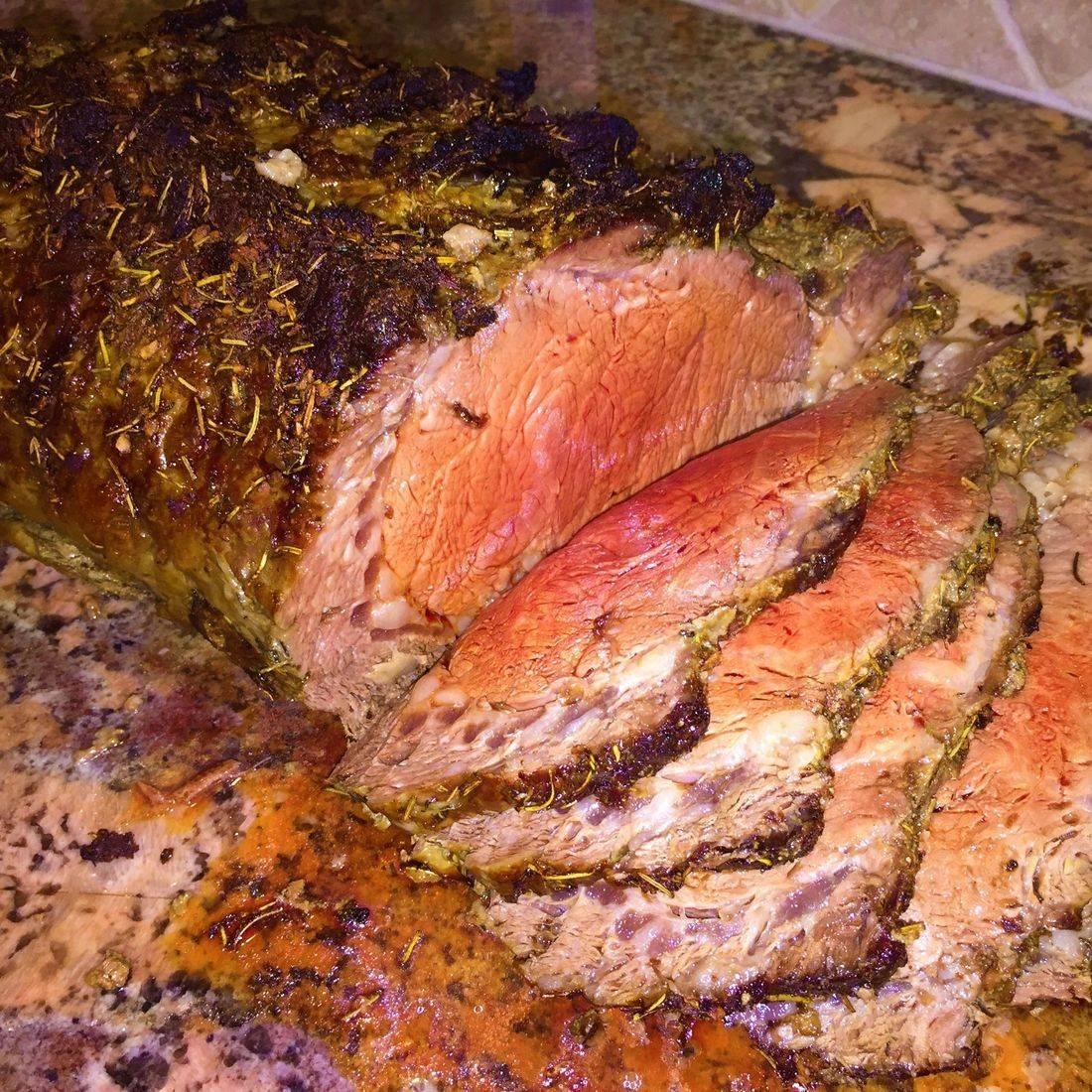 herb marinated filet mignon
