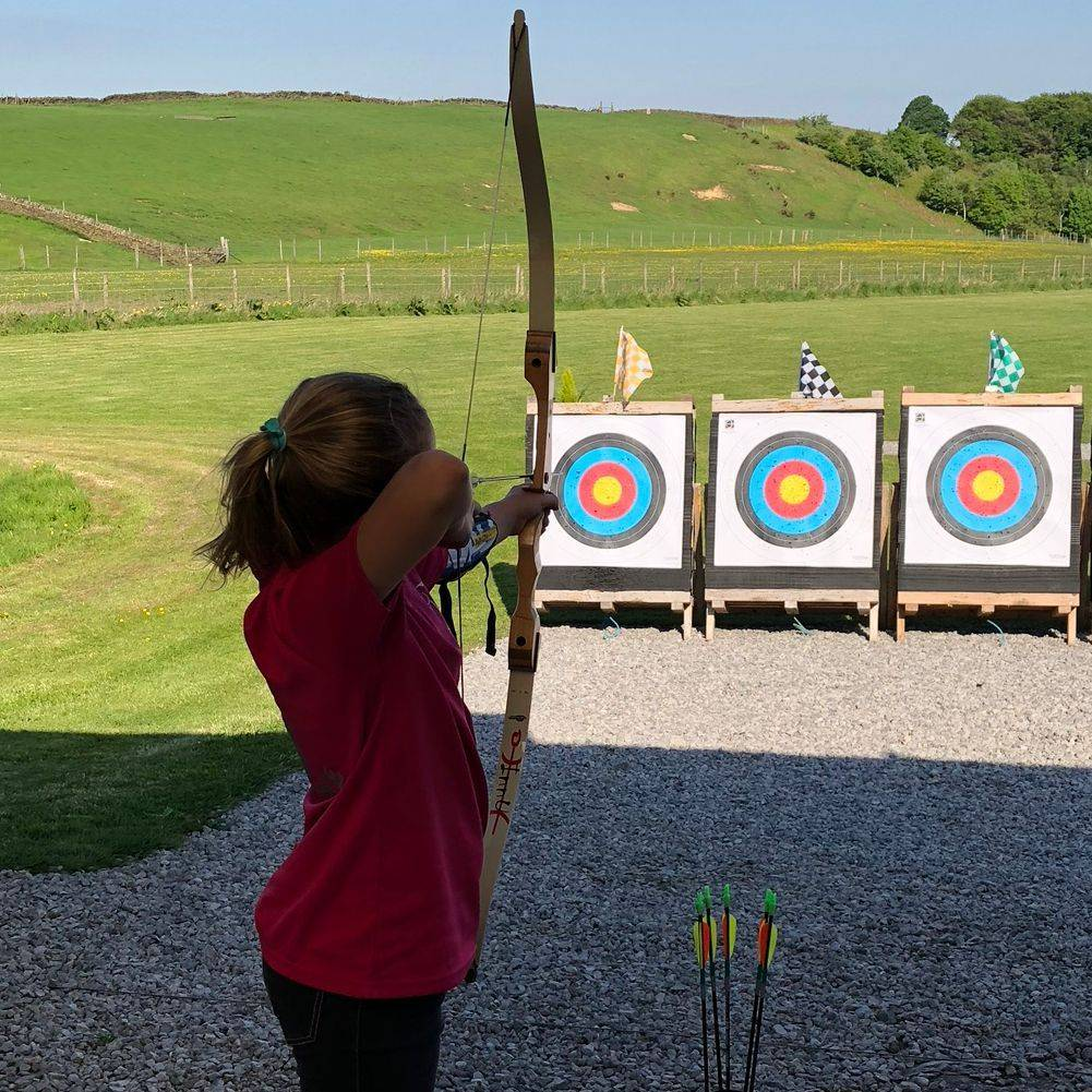 Archery lessons and birthday parties for children Sheffield