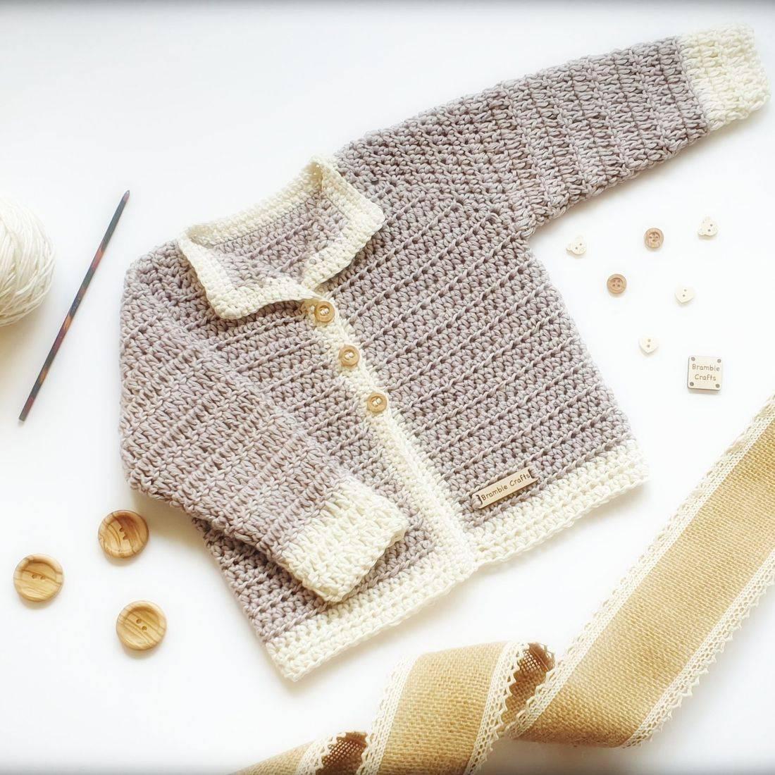royal baby, baby sussex, vegan crochet, newborn cardigan, crochet cardigan
