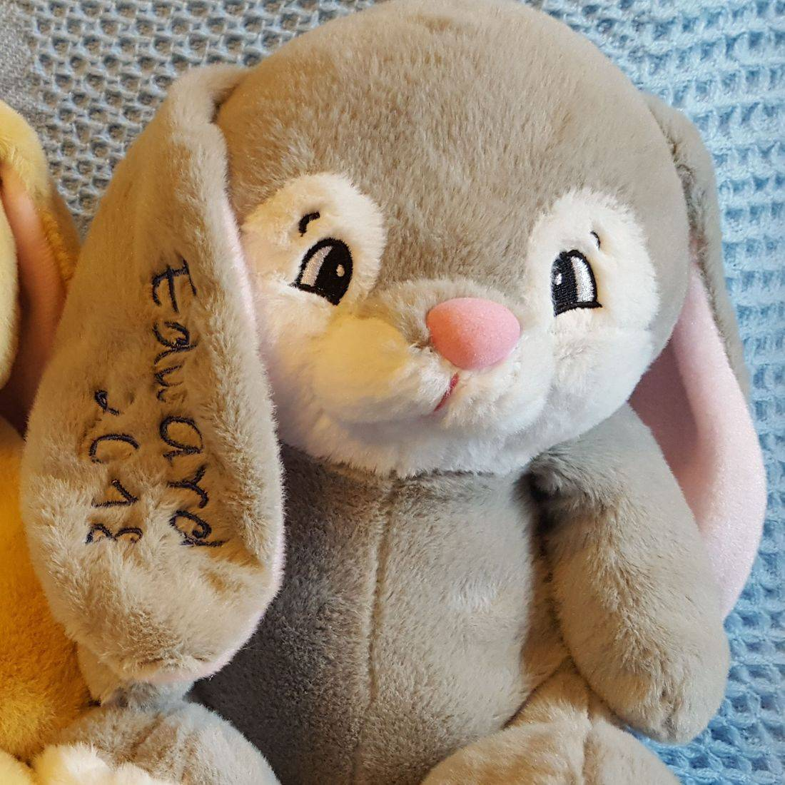 Personalized Embroidered Bunny
