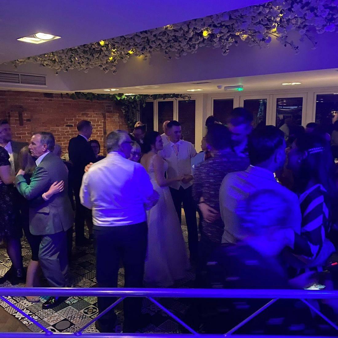 The Old Rectory Redditch DJ & LED Dancefloor  Ollie Clarke