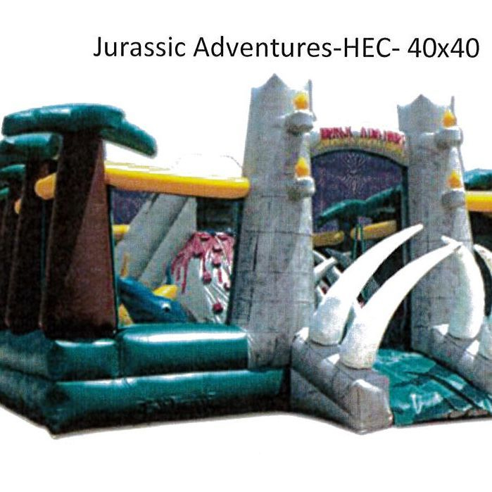 Jurassic Adventure Play Center 40'x40'