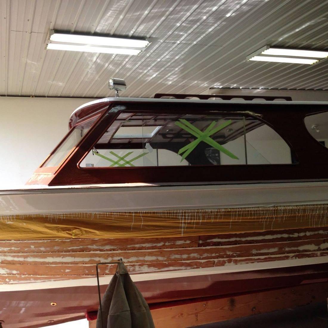 Lyman Refit by Bergersen Boat