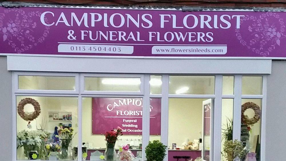 Funeral Flowers Leeds, Campions Funeral Flowers