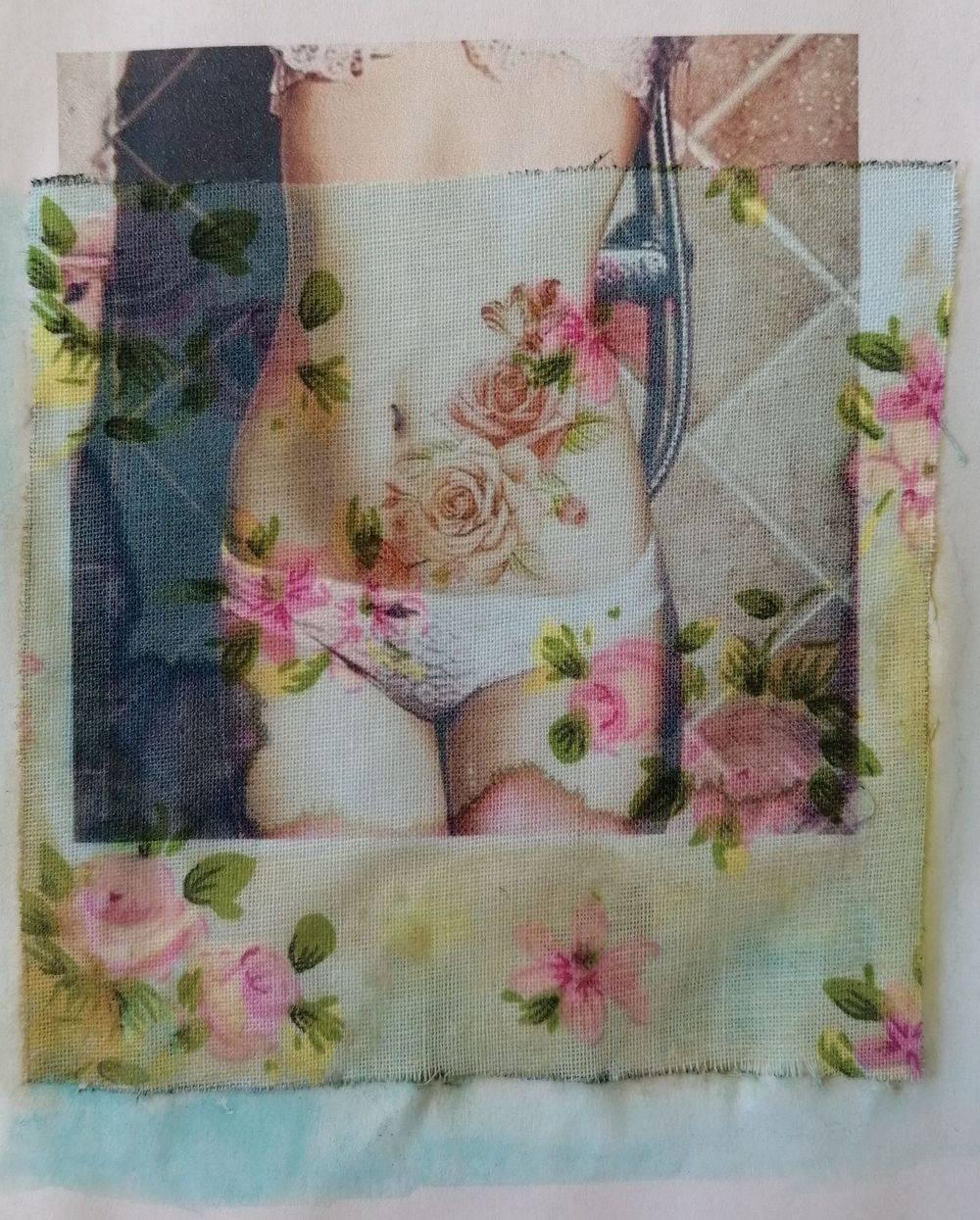 Aquarelle, Textile, Femme, Histoire de l'art