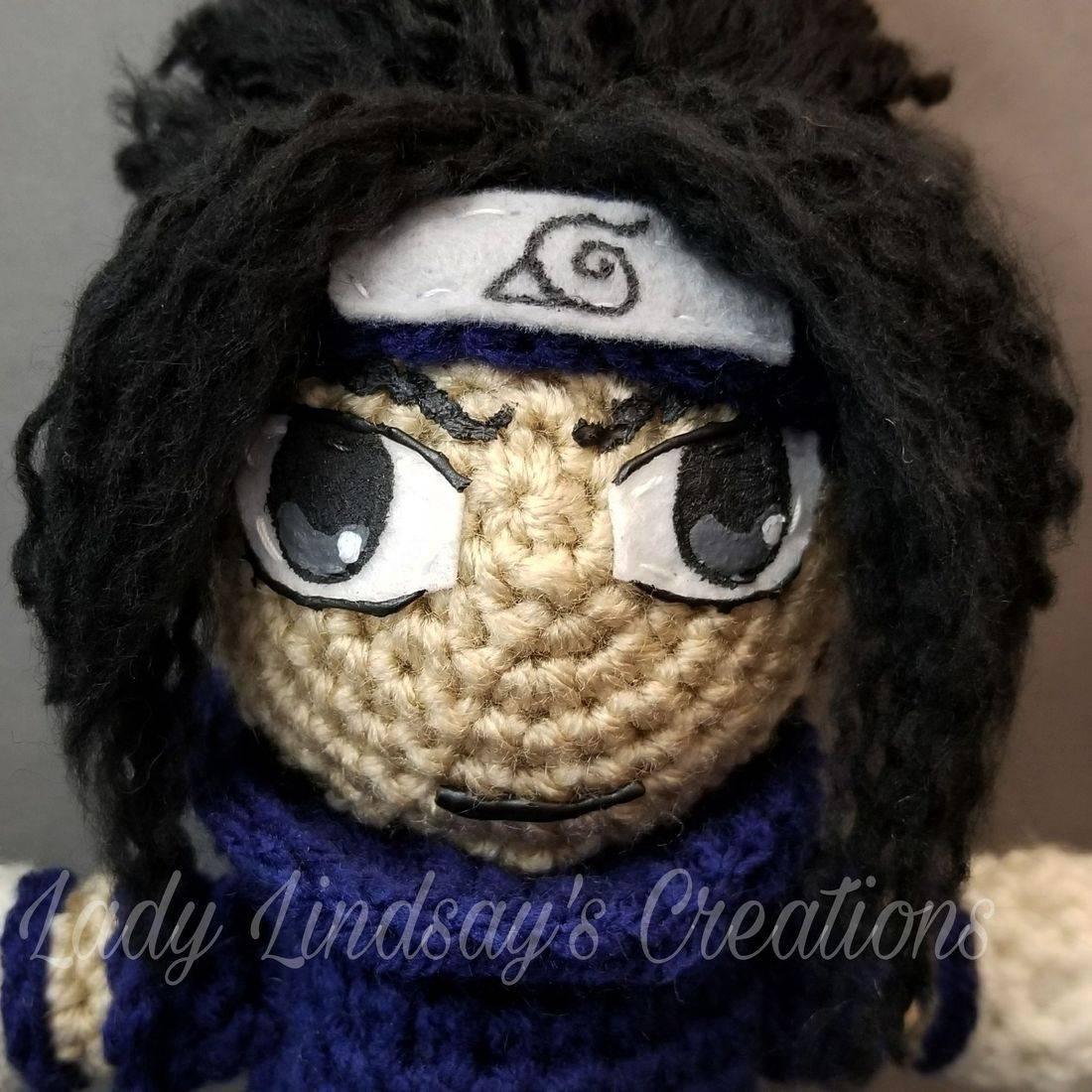 Sasuke, Sasuke Uchiha, Naruto, Naruto Shippuden, Boruto, anime, amigurumi, plush, doll, crochet, handmade, nerd, geek