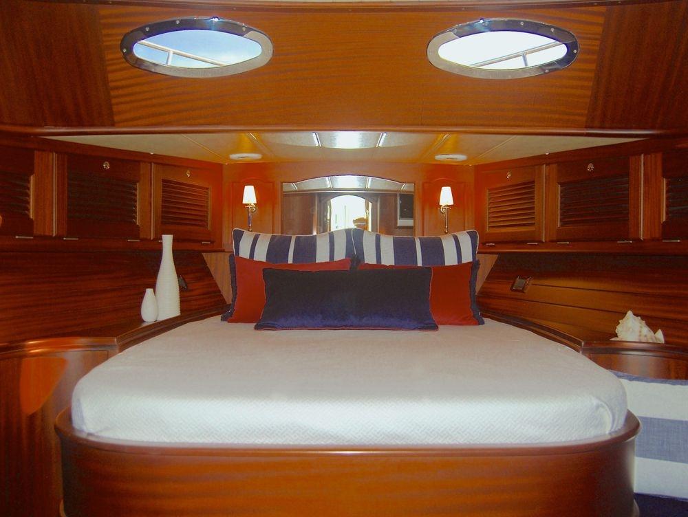 #newportyachtinteriors #vicem #Perennialsfabrics #yachtinteriors