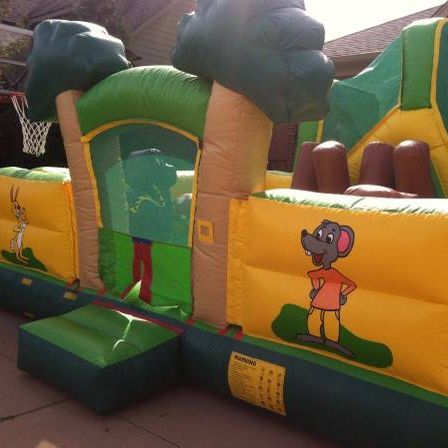 Kids mouse theme obstacle bounce