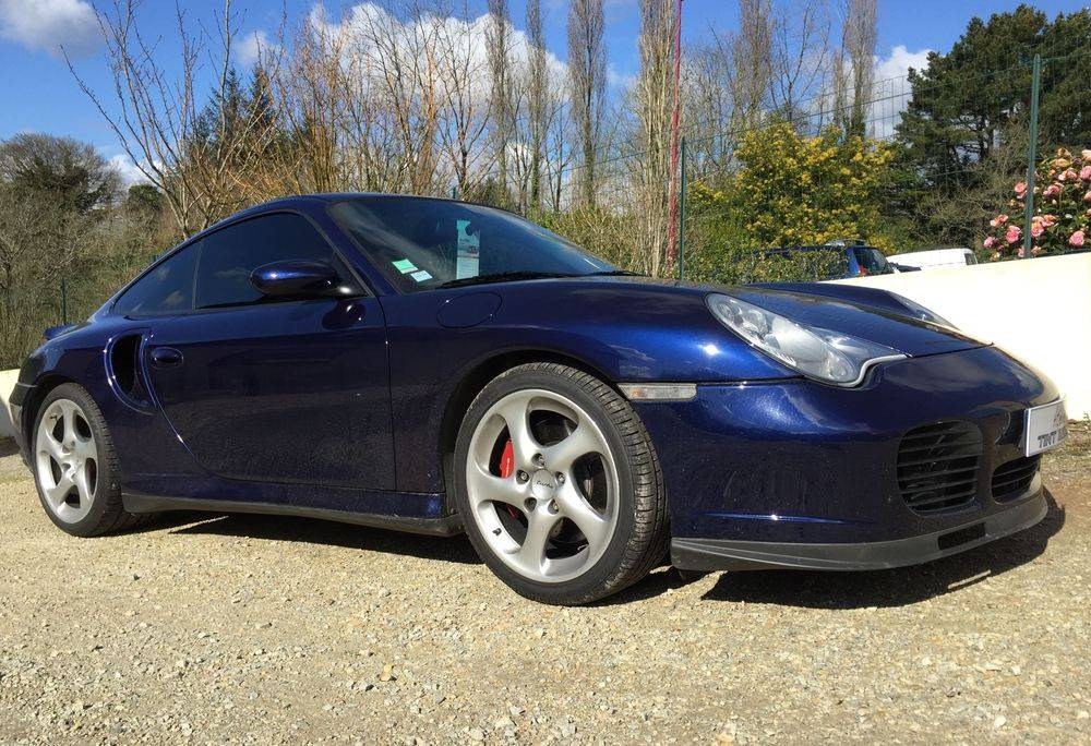 Vitre Teintée Porsche, Quimper, Finistère, Bretagne
