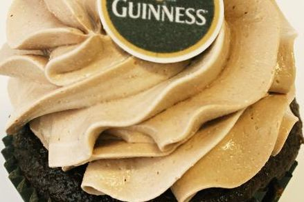 Guinness Beer Chocolate cupcakes