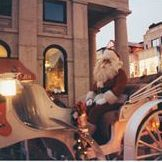 Christmas is a time to sit back and enjoy the festivities. Carriage rides offer that special touch.