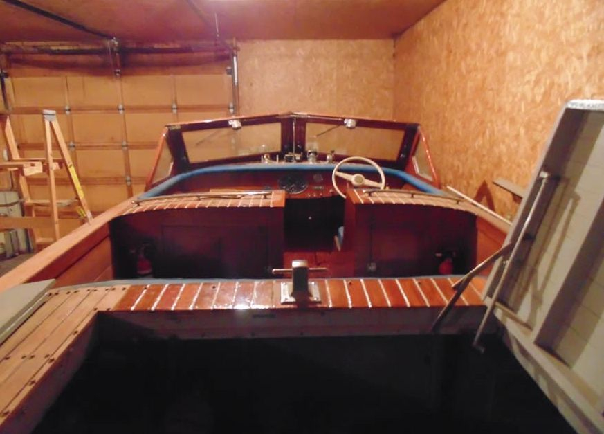 Hackercraft wood boat for sale