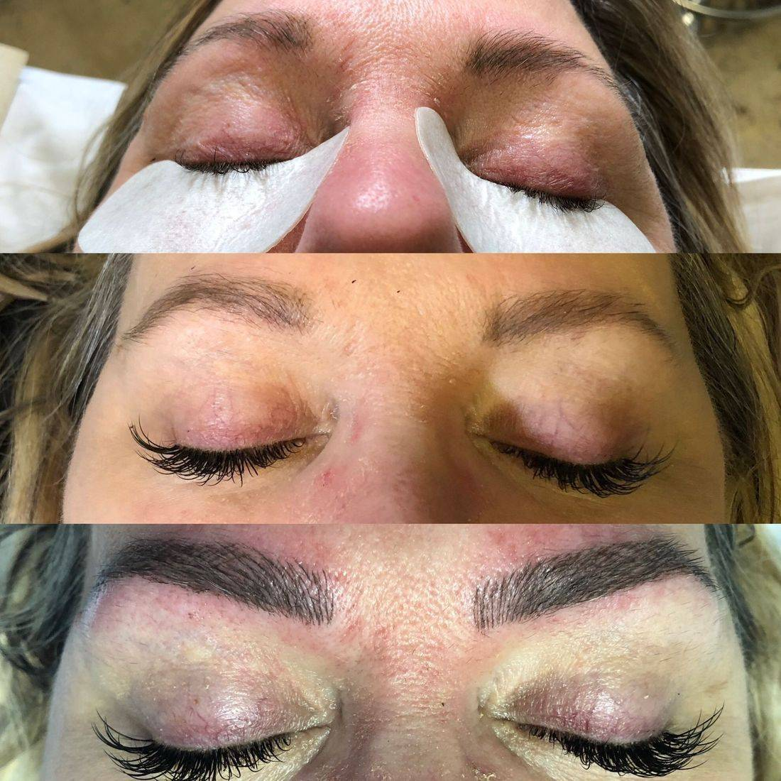 Microblading & Classic eyelash extensions in Marlow