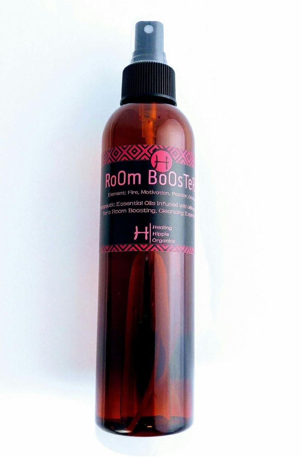 Room Booster Fire, Healing Hippie Organics, Boise, Idaho, USA