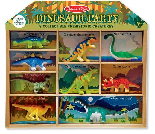 Dinosaur Party Play Set / 3-7 Years