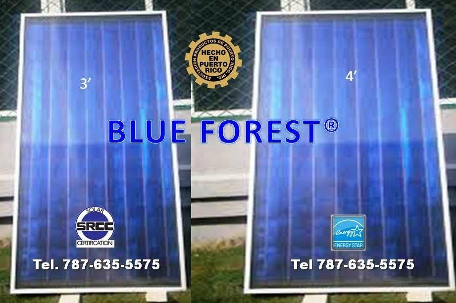 Placas para calentadores solares