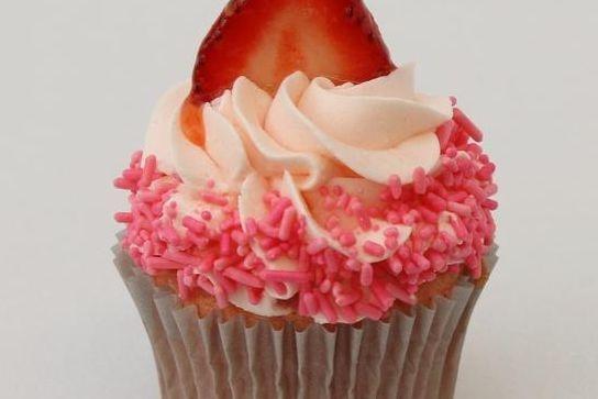 Strawberry Fields Cupcake